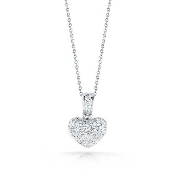 Roberto Coin Tiny Treasure Heart Necklace