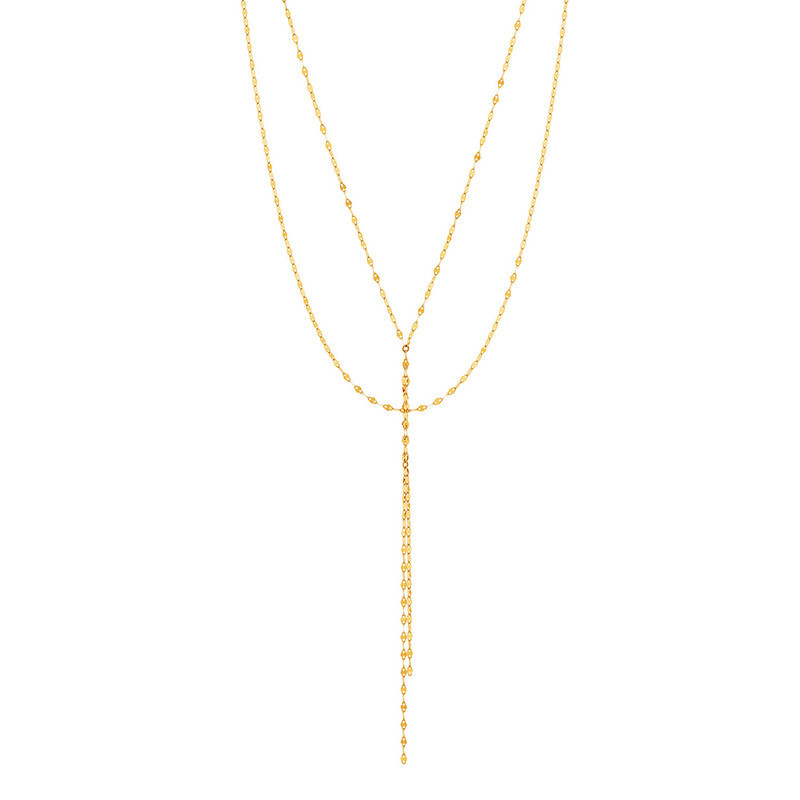 Lana Yellow Gold The Blake Necklace