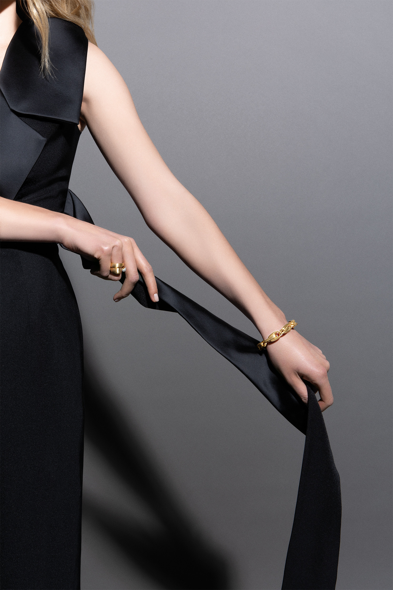 Marco Bicego 18k Gold Ring on model 2