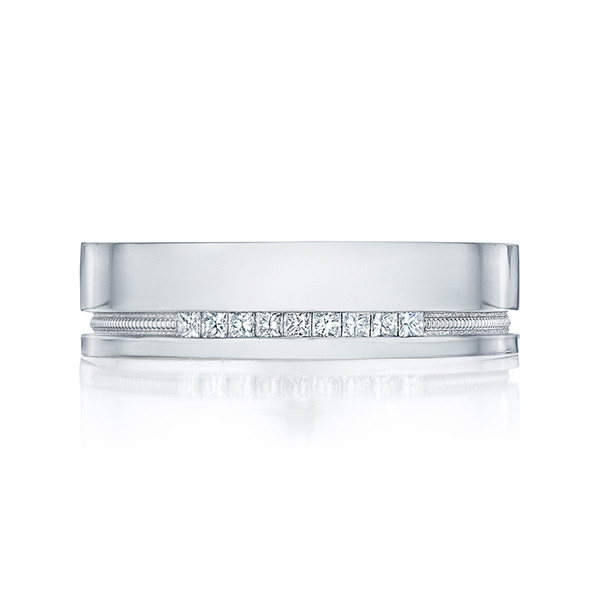 Tacori 108-6D Sculpted Crescent Diamond Wedding Band