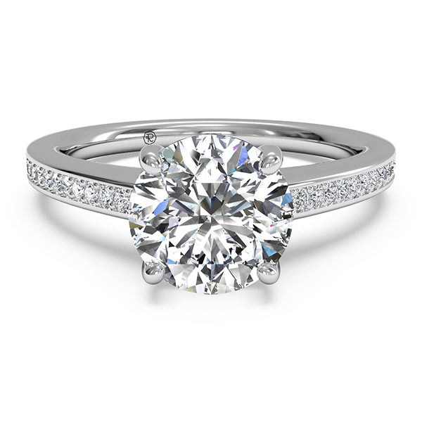 Ritani Diamond Micropave Engagement Mounting