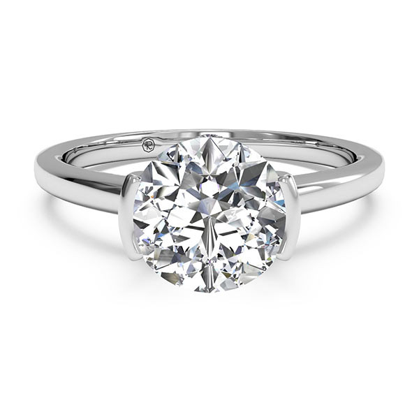 Ritani Bezel-Set Solitaire Engagement Mounting
