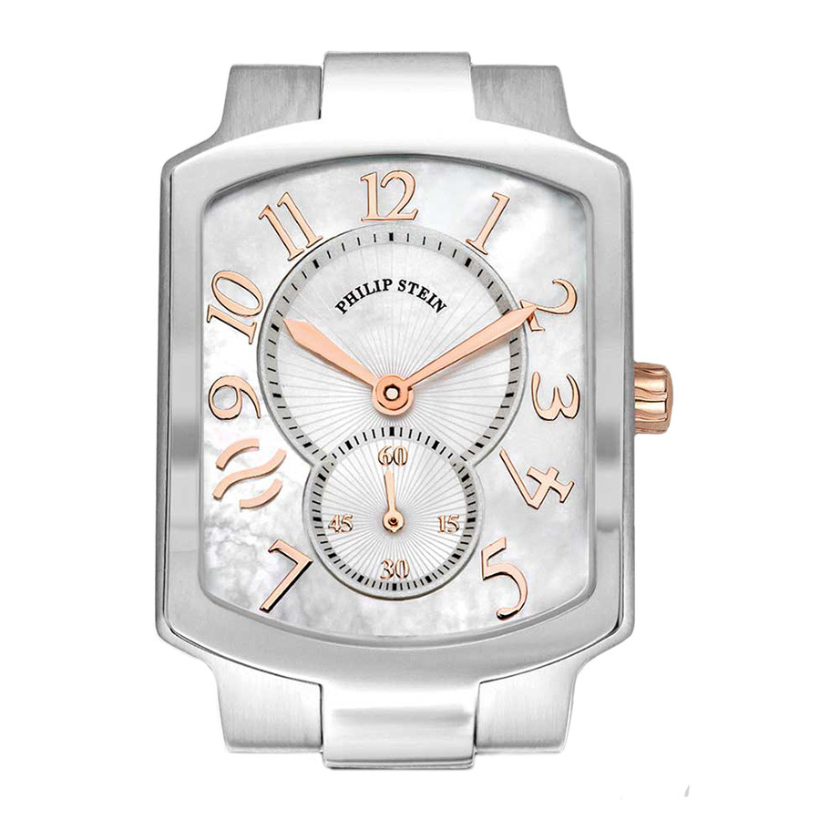 Philip Stein Classic Square Mother of Pearl Watch