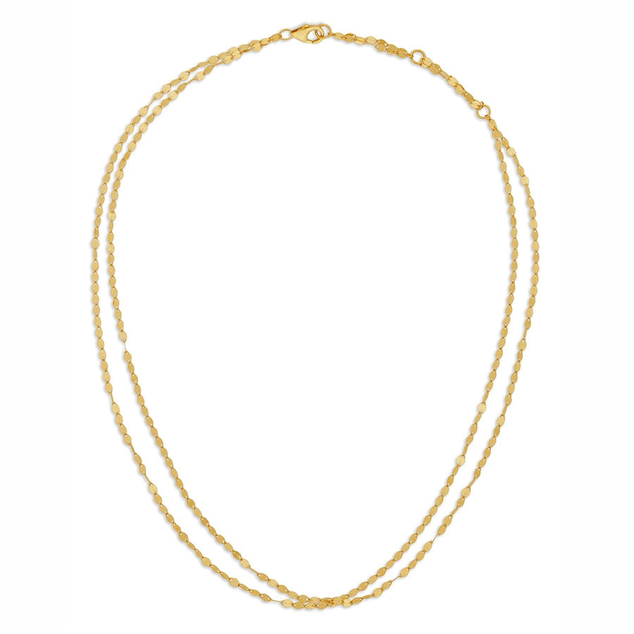 Lana Yellow Gold Alias Double Strand Choker
