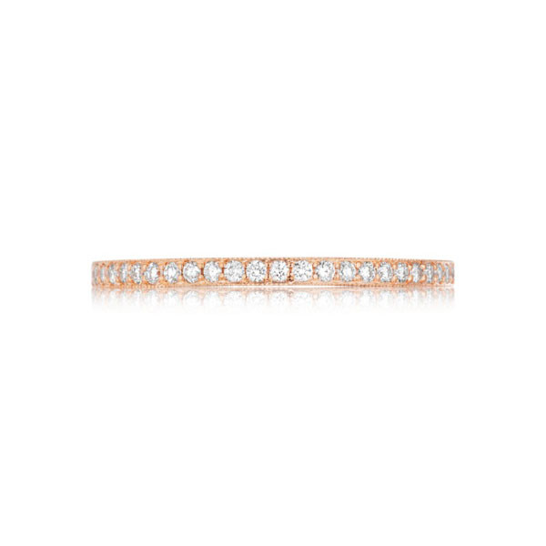 Tacori 41-15 Pretty In PInk Hand-Engraved Diamond Wedding Band