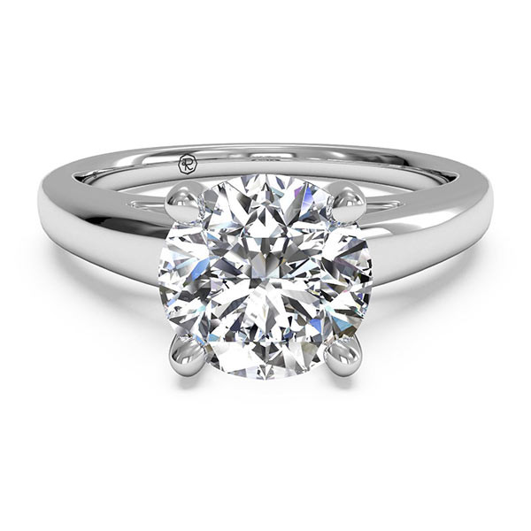 Ritani Solitaire Cathedral Engagement Mounting