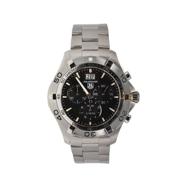Pre-Owned Tag Heuer 43mm Aquaracer Chrono Watch