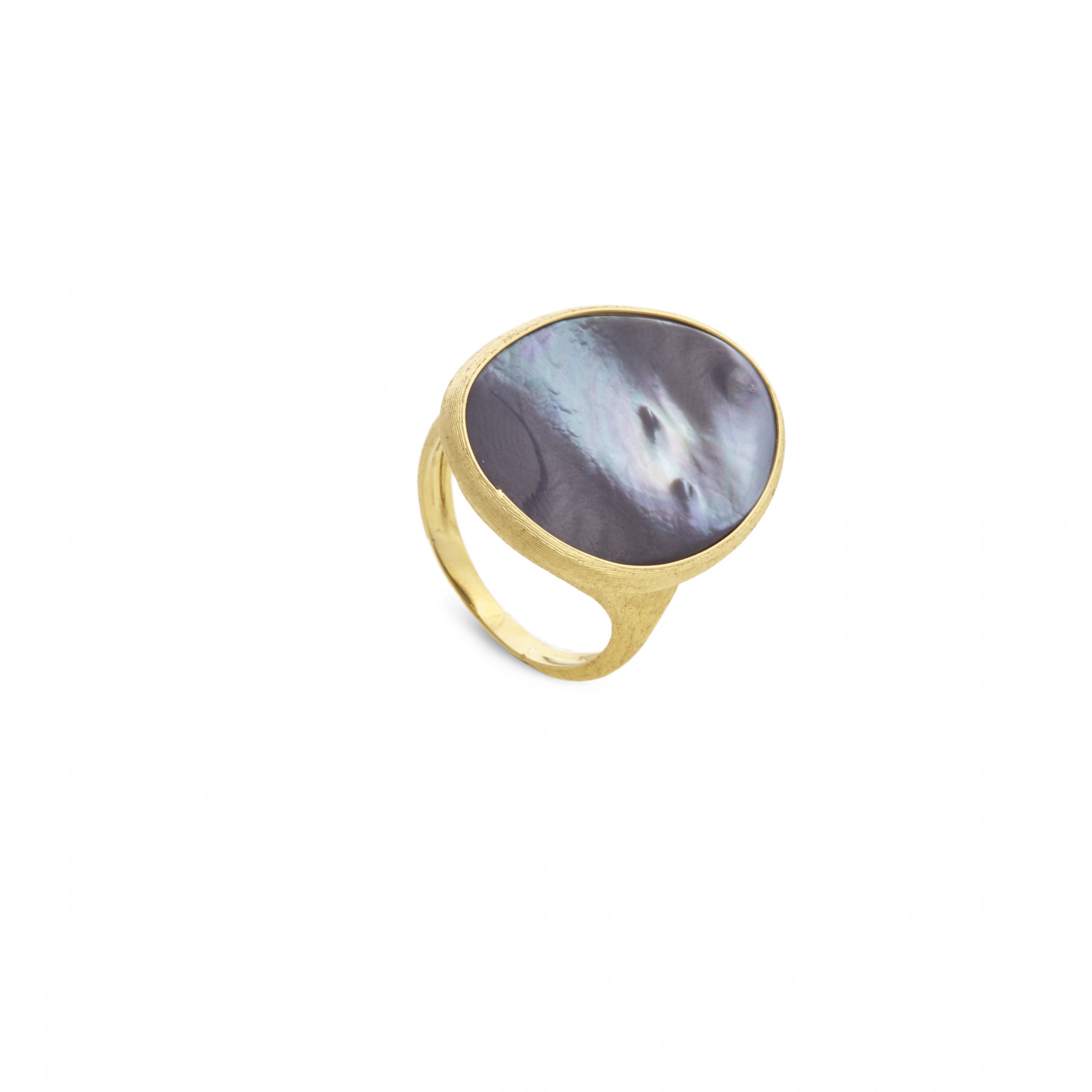 Marco Bicego Lunaria Black Mother of Pearl Cocktail Ring