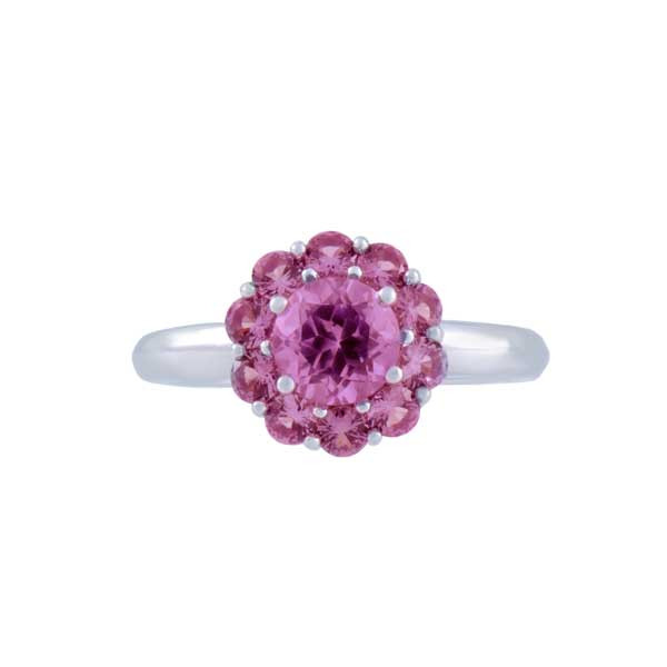 Color My Life Alexandrite Ring in White Gold