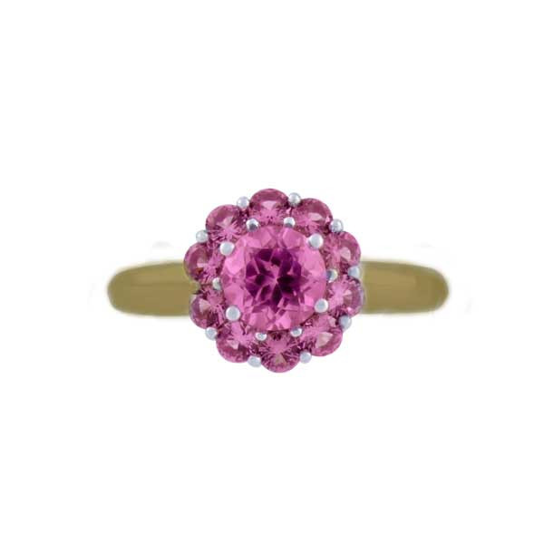 Color My Life Alexandrite Ring in Yellow Gold