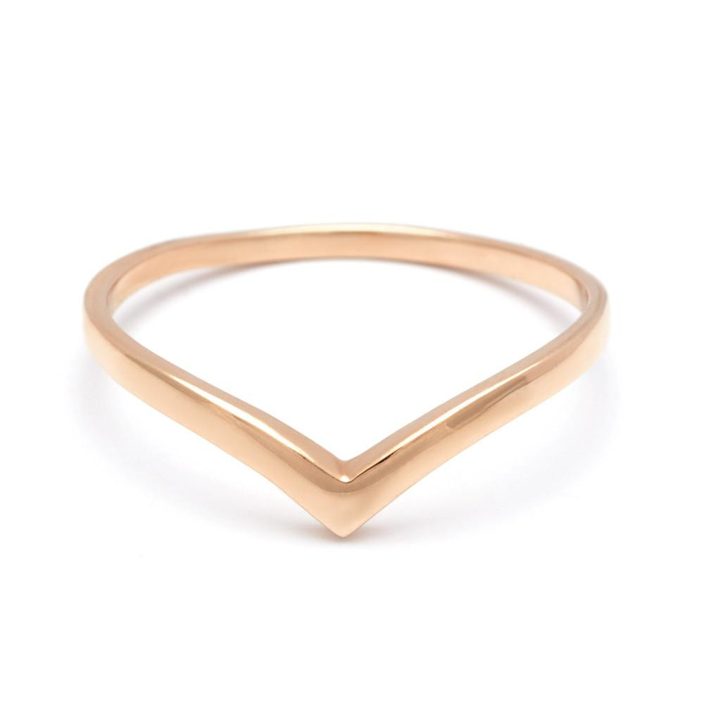 Anna Sheffield Orbit Band in 14K Yellow Gold