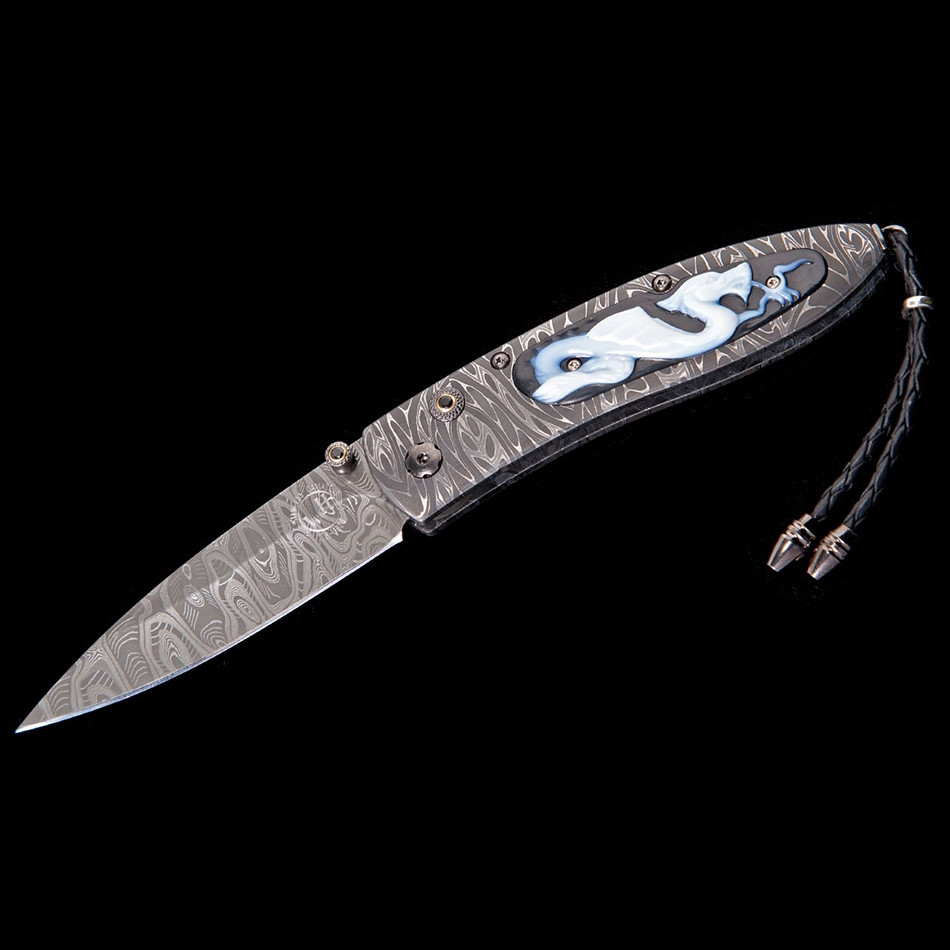Monarch Mist Limited Edition William Henry Opened Pocket Knife