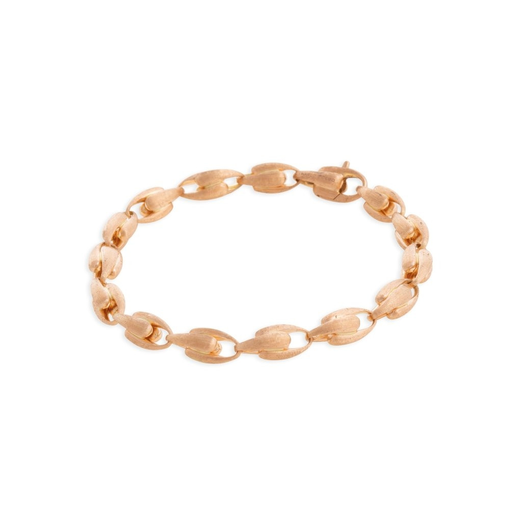 Marco Bicego Lucia Small Link Bracelet in rose gold