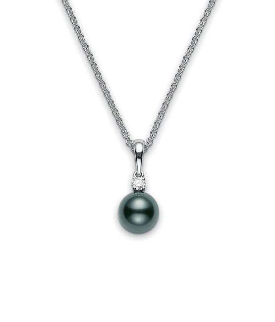 Mikimoto Black South Sea Pearl Pendant 9mm - 10mm Main