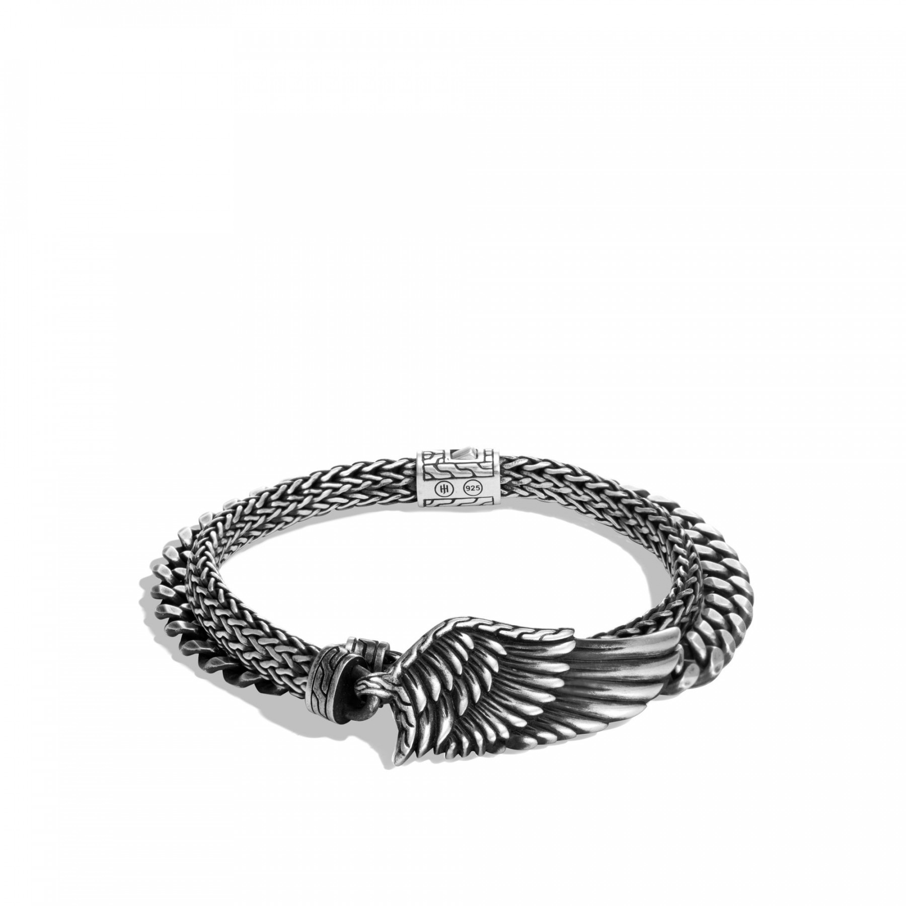 John Hardy Legends Eagle Wing Double Wrap Bracelet