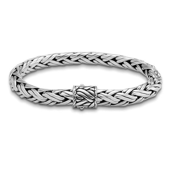 John Hardy Classic Chain 8mm Large Woven Chain Bracelet