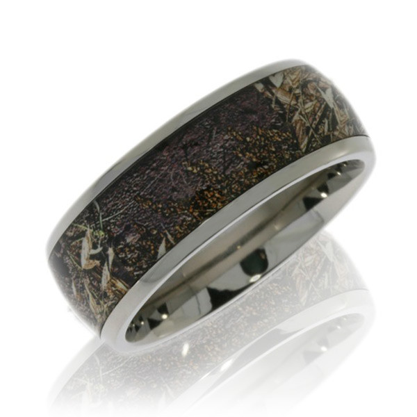 Lashbrook 8mm Domed Mossy Oak Duck Blind Camo Band