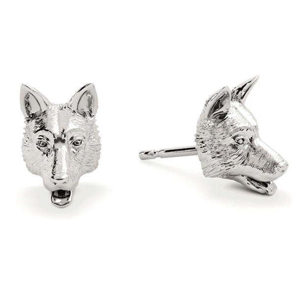 Dog Fever German Shepherd Stud Earrings