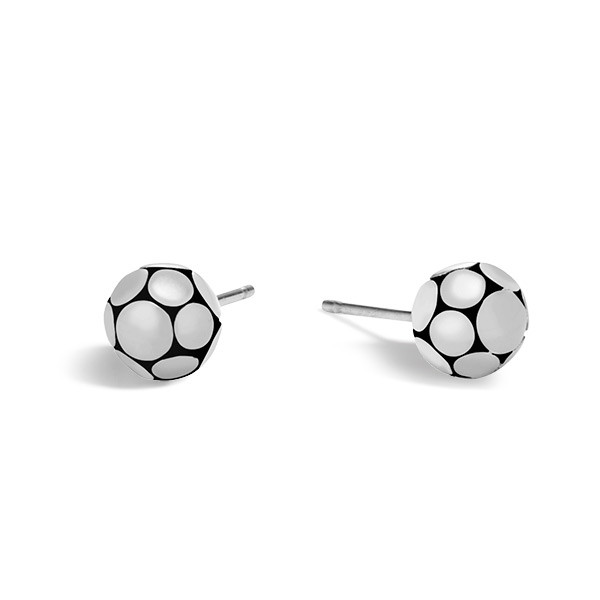 John Hardy Dot Silver Small Ball Earrings
