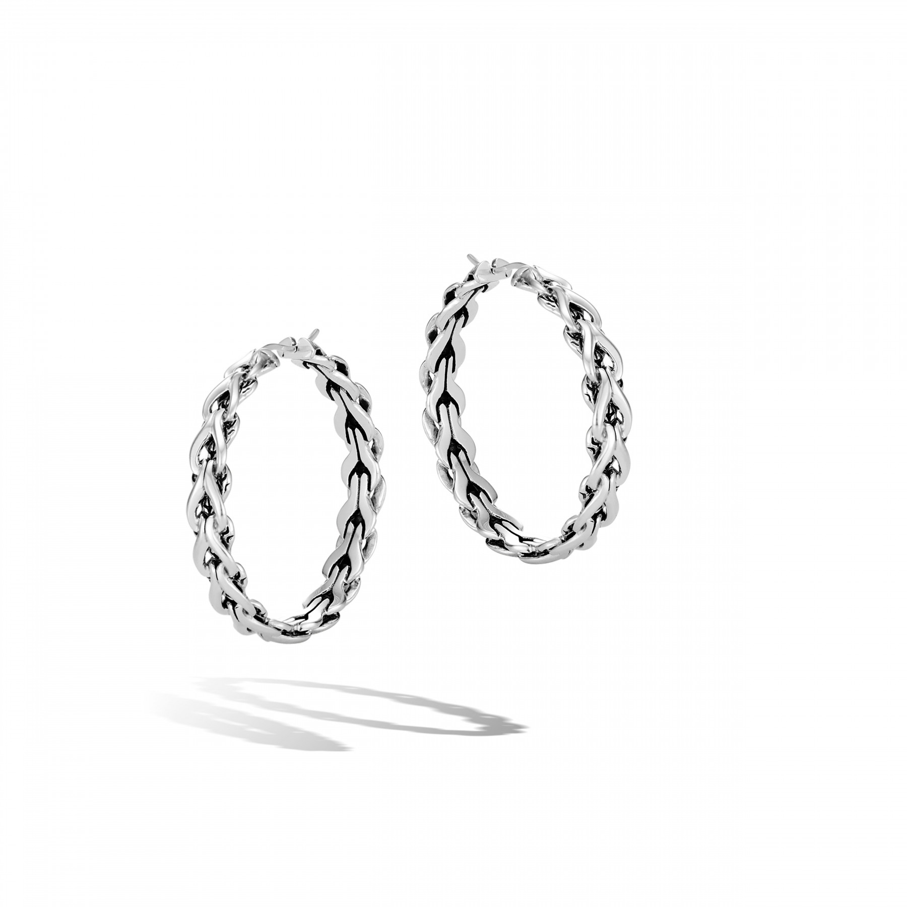 John Hardy Asli Classic Chain Link Hoop Earrings