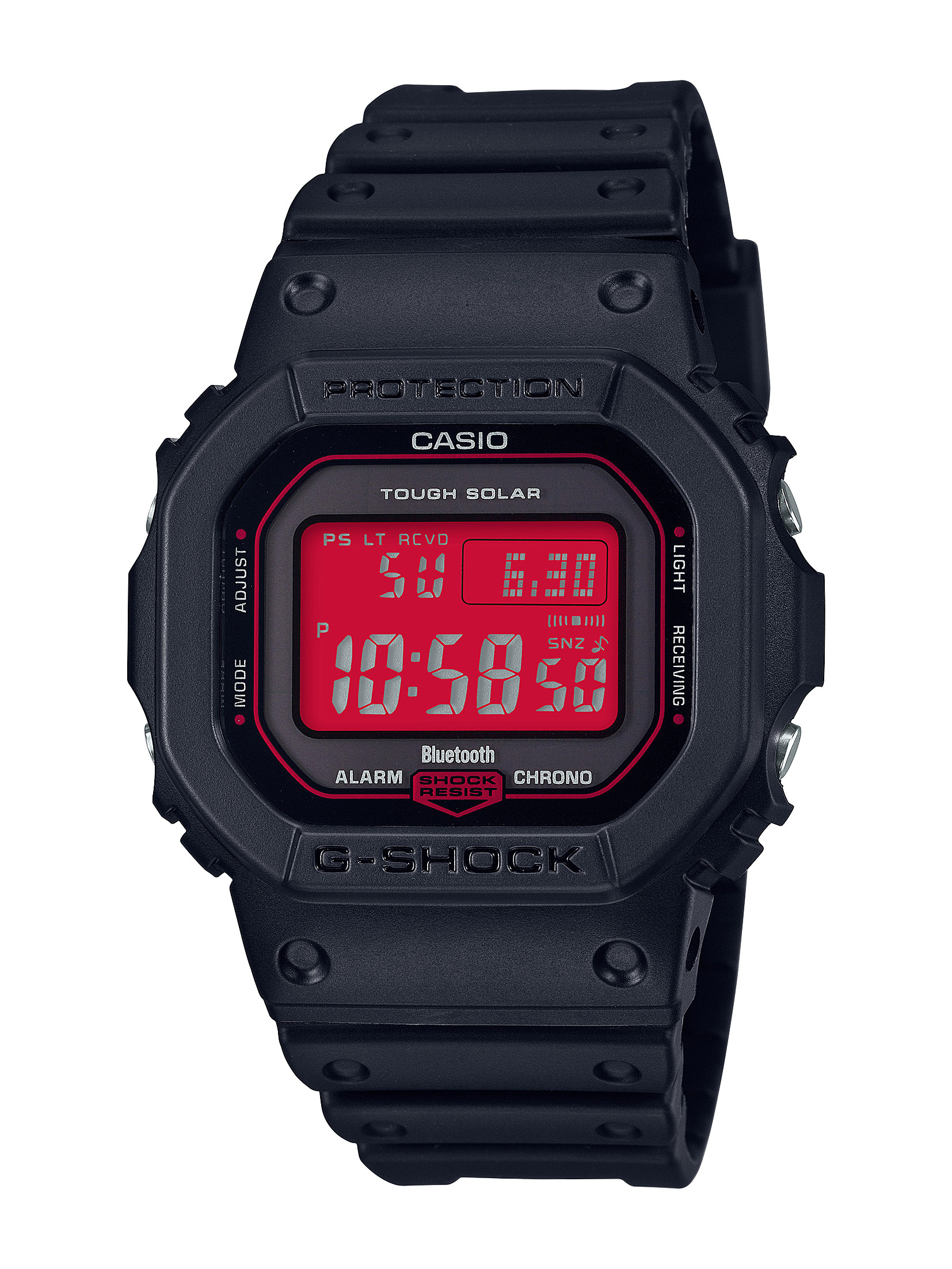 G-SHOCK Adrenalin Red Series Black and Red Watch – 42.8mm