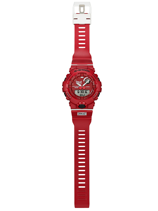 G-Shock Analog-Digital Red Watch full view