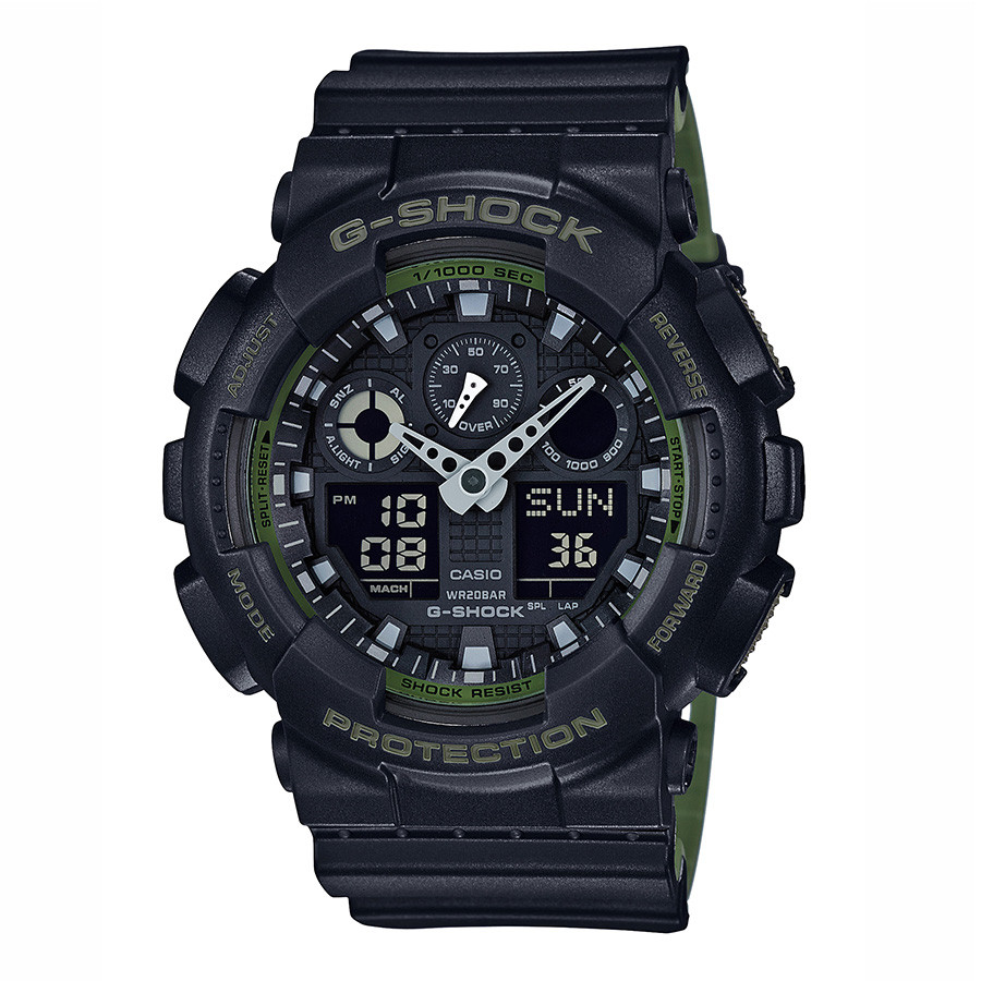 Casio G-Shock Military Green & Black Accent Resin Watch