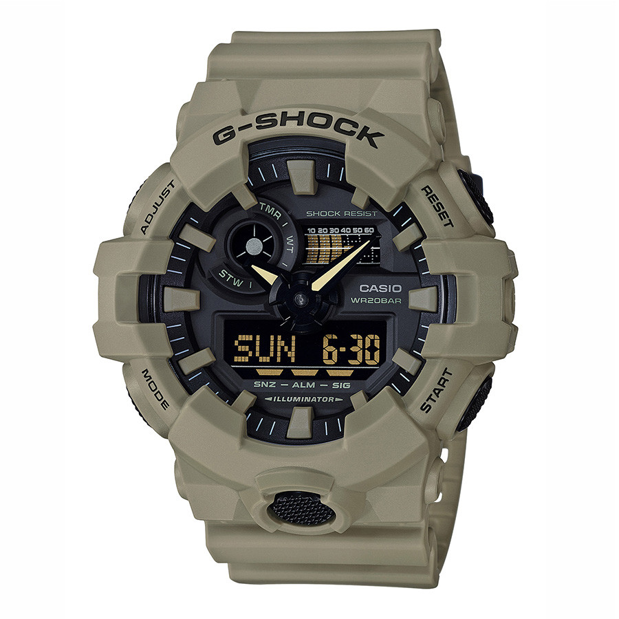 Casio Oversized Desert Sand Resin G-Shock Watch