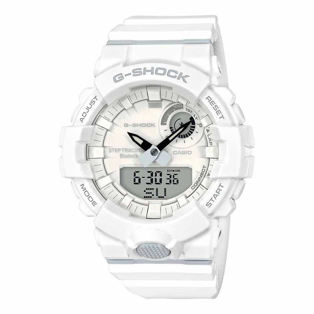 G-Shock G-Squad White Fitness Watch