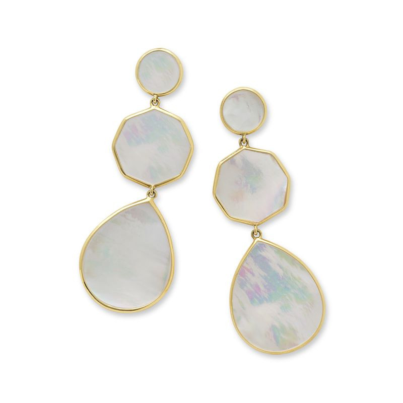 IPPOLITA Polished Rock Candy Mother of Pearl Dangle Earrings