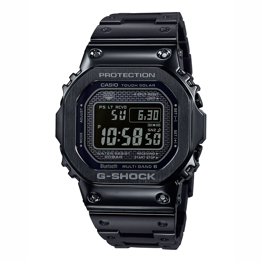 G-Shock Full Metal 5000 Black Connected Watch by Casio