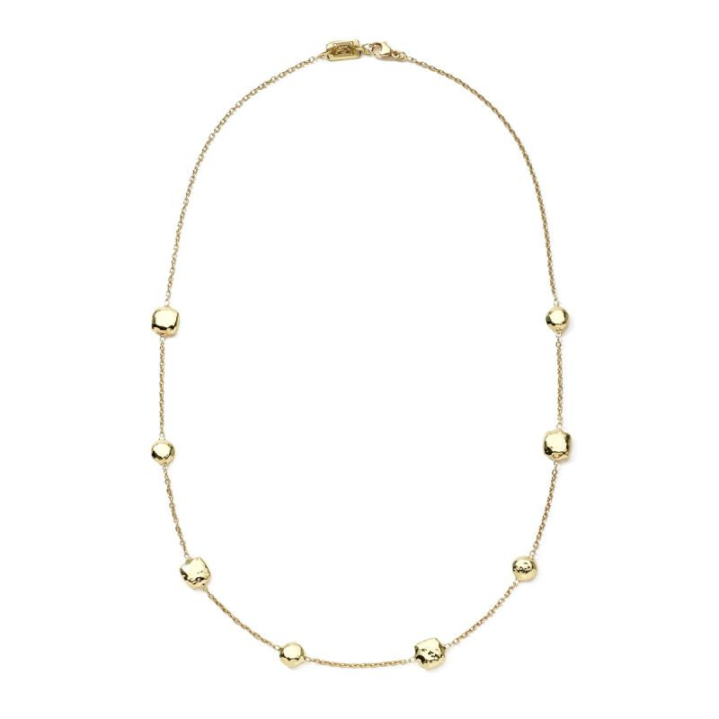 IPPOLITA Gold Classico Short Station Necklace full view