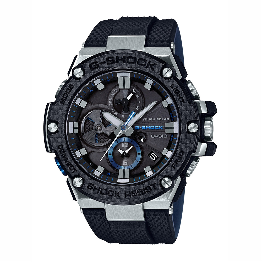 G-Shock G-Steel Black Carbon Fiber Watch