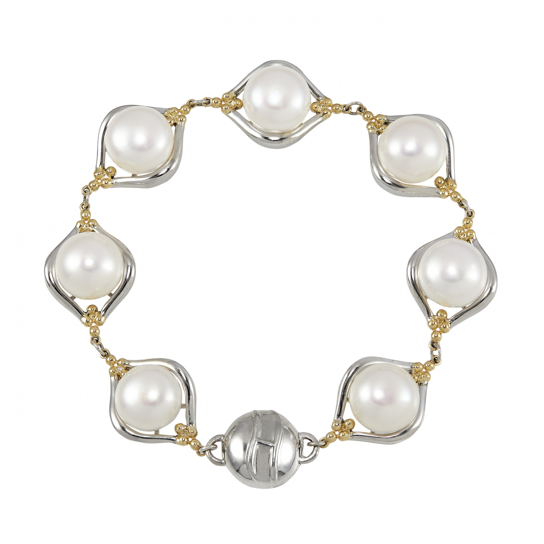Honora Pearl Gold and Silver Bracelet