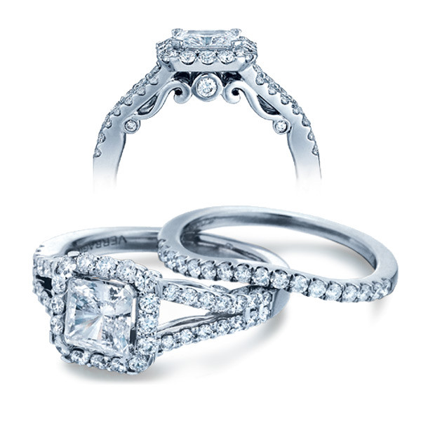 Verragio Insignia Princess Halo Engagement Setting