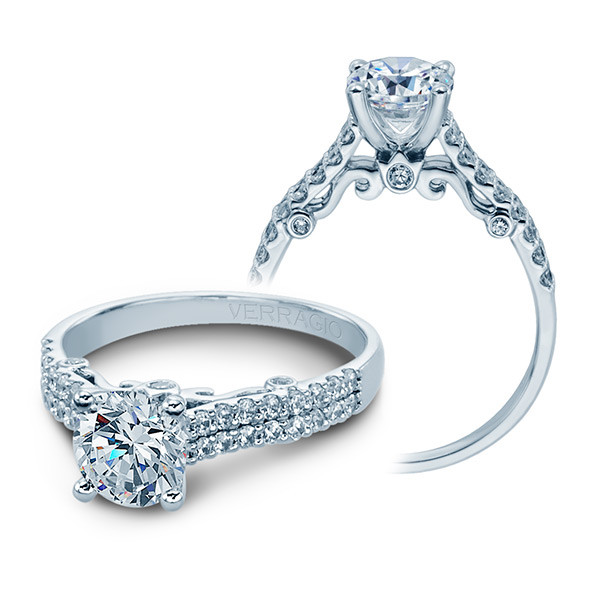 Verragio Insignia Pave Diamond Engagement Setting
