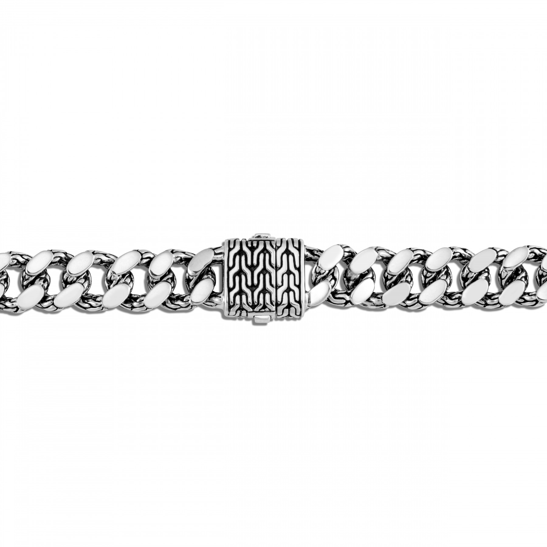 John Hardy Classic Chain Large Link Bracelet in Sterling Silver clasp view