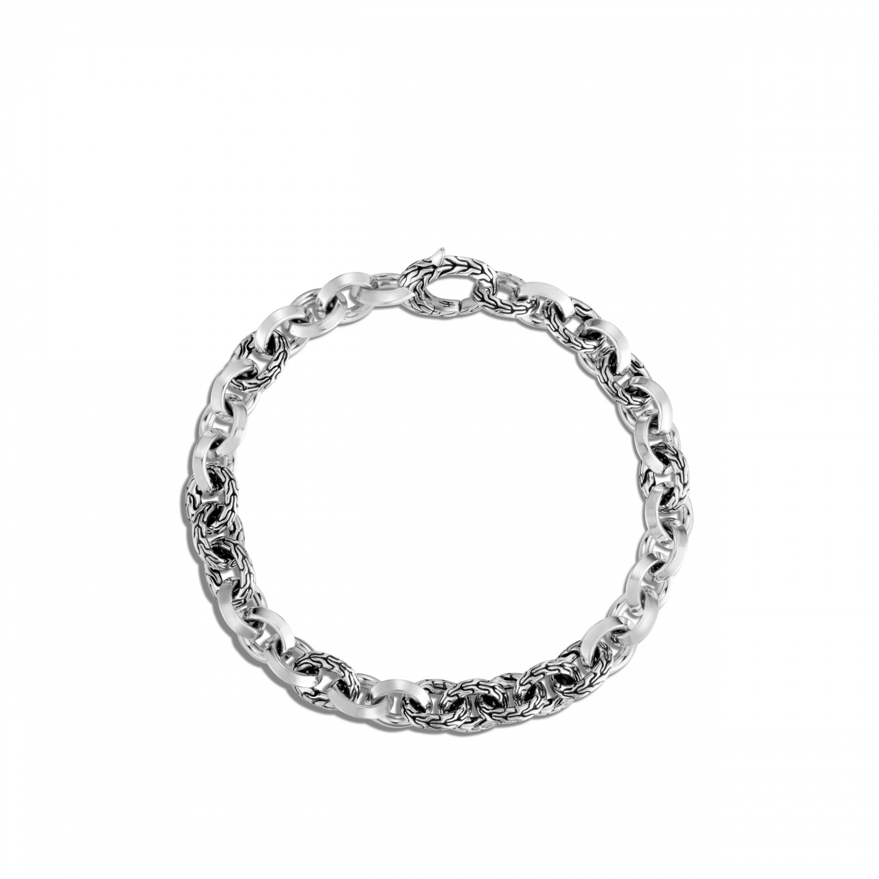 John Hardy Classic Chain Sterling Silver Link Bracelet flat view