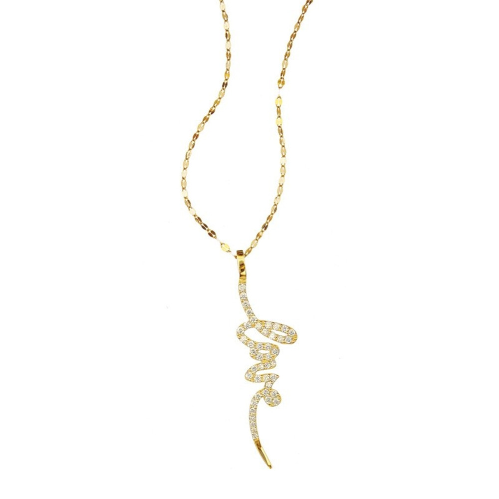 Lana Diamond Love Necklace