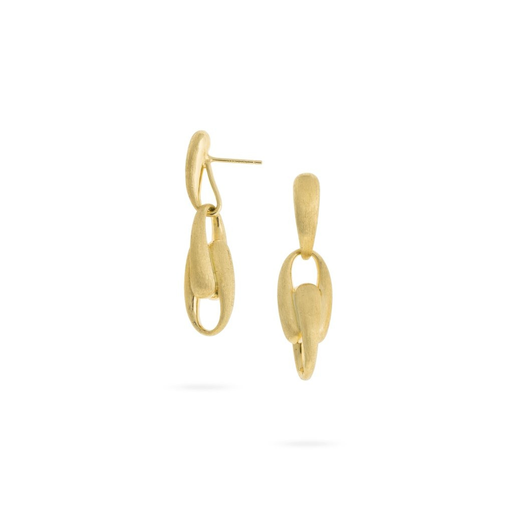 Marco Bicego Lucia Gold Link Drop Earrings