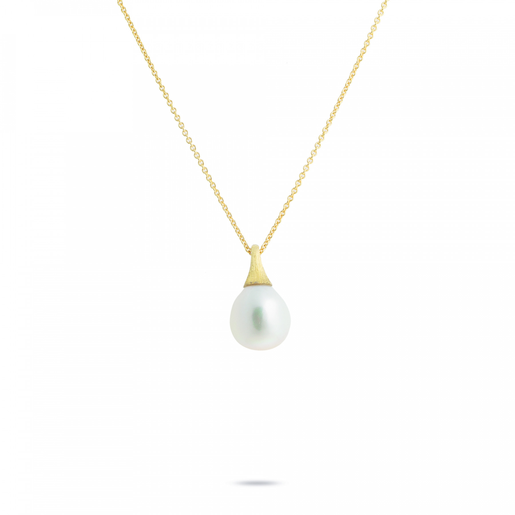 Marco Bicego Africa Boules Pearl Necklace in 18K Gold