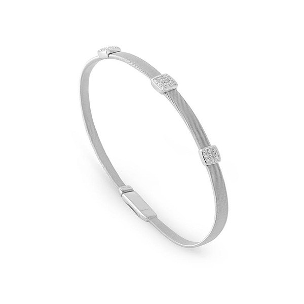 Marco Bicego Masai Three Station Diamond Bracelet