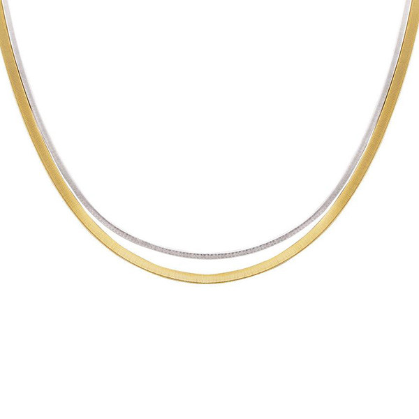 Marco Bicego Masai Two-Tone Double Strand Necklace