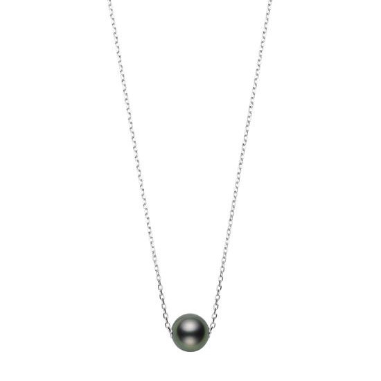 Mikimoto Black South Sea Pearl 10mm Necklace