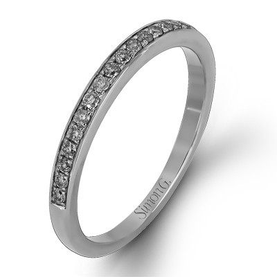 Simon G MR1714-B Passion Pave Wedding Band