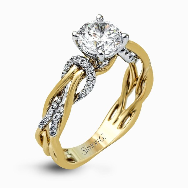 Simon G. MR2514 Fabled Engagement Ring
