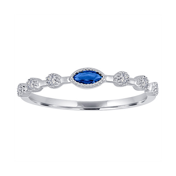 birthstone stackable band