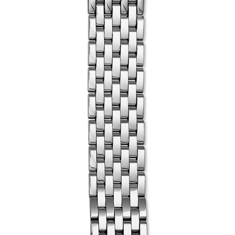 Michele Stainless Steel Sidney 7 Link 18mm Bracelet