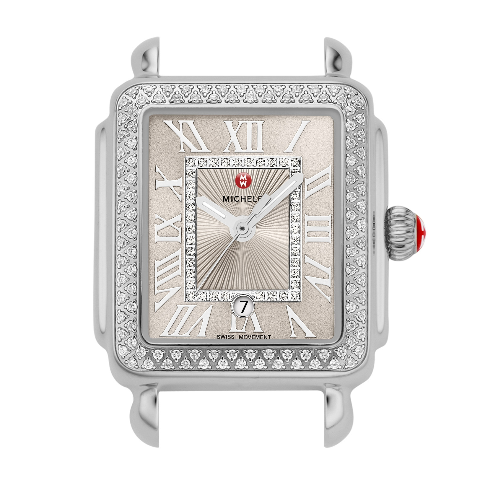 Michele Deco Madison Mid Cashmere Diamond Watch