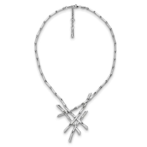 John Hardy Bamboo Cluster Necklace